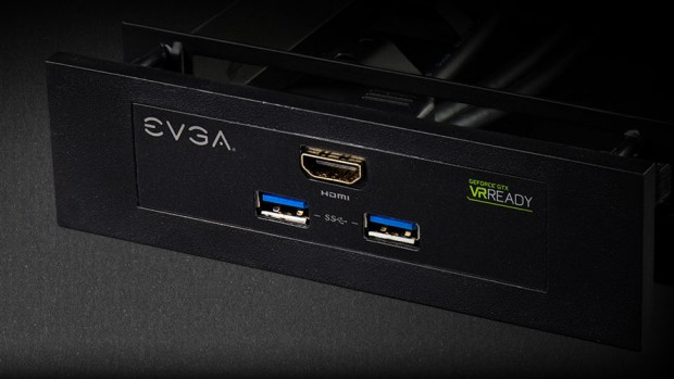 Front-Panel der Geforce GTX 980 Ti VR Edition ACX 2.0+ (Bild: EVGA)