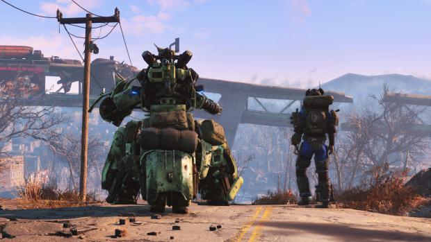 Fallout 4 - Automatron (Bild: Bethesda)