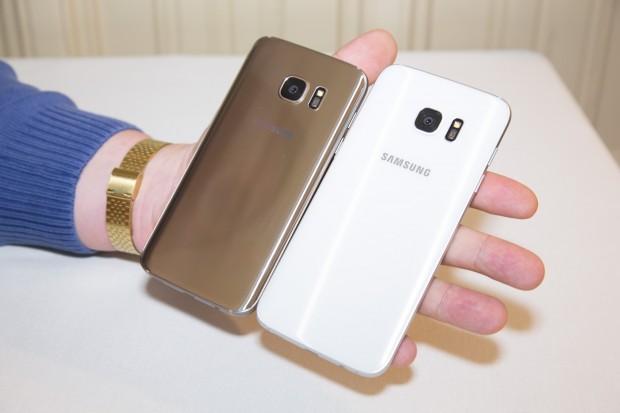 Beide Smartphones haben Samsungs neue 12-Megapixel-Kamera eingebaut, die merklich schneller als Konkurrenzgeräte fokussiert. (Bild: Martin Wolf/Golem.de)