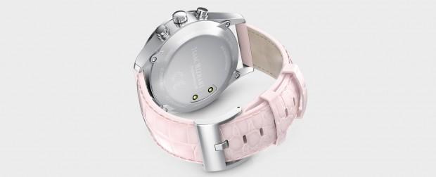 isaac mizrahi damen smartwatch mit oled display. Black Bedroom Furniture Sets. Home Design Ideas