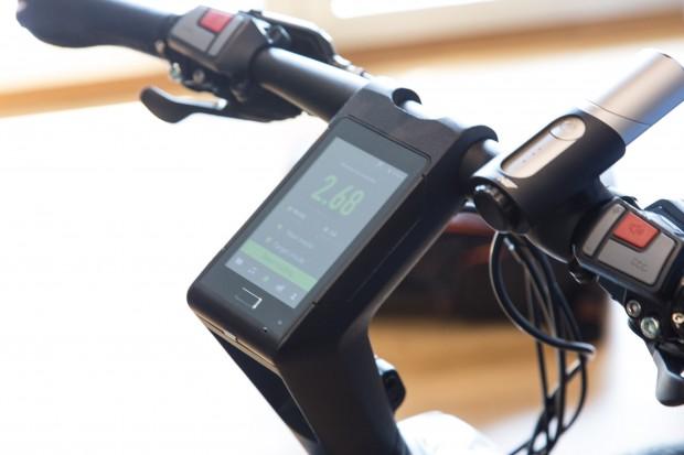 Le Syvrac hat eine fest verbaute Android-Konsole. (Bild: Martin Wolf/Golem.de)