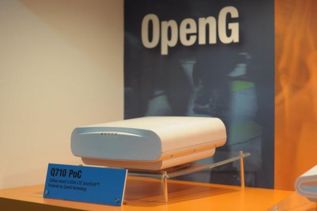 Als Einzelgerät ist der OpenG-Access-Point recht groß. (Foto: Andreas Sebayang/Golem.de)