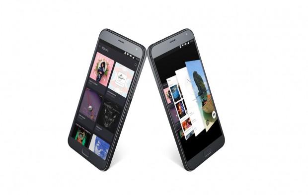 Das Meizu Pro 5 mit Ubuntu für Smartphones (Bild: Canonical)