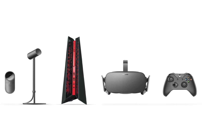 Oculus Ready: Bundles aus PC und Rift kosten mindestens 1.500 US-Dollar - Asus ROG G20CB (Bild: Oculus VR)