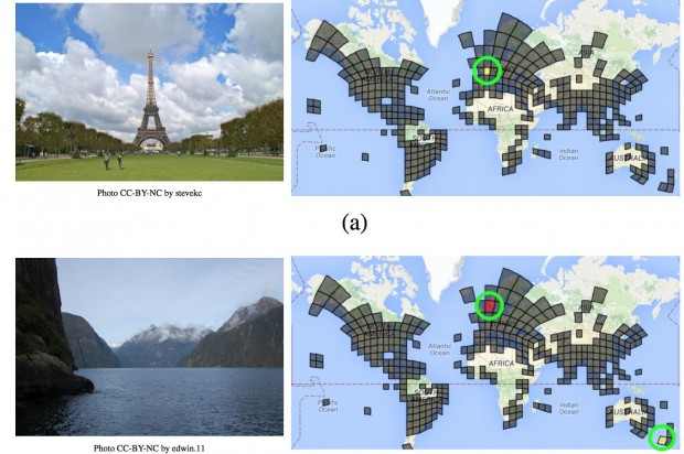 Google will Aufnahmeorte auch ohne GPS bestimmen. (Bild: Google)