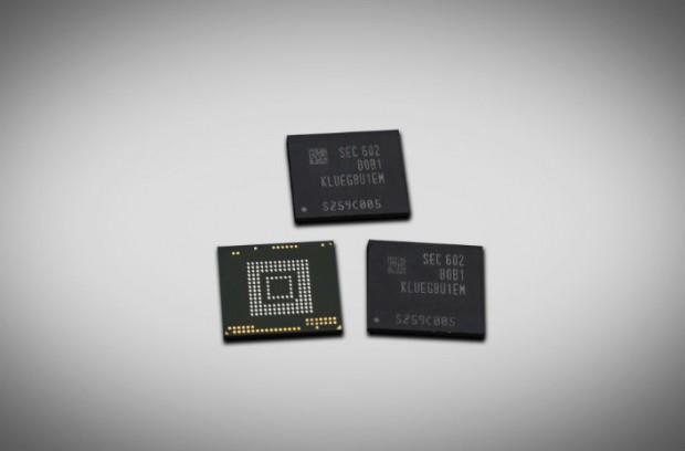 UFS 2.0 mit 256 GByte (Bild: Samsung)