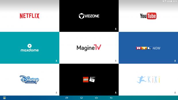 TV-Dienst-Seite kann nicht angepasst werden. (Bild: Screenshot Golem.de)