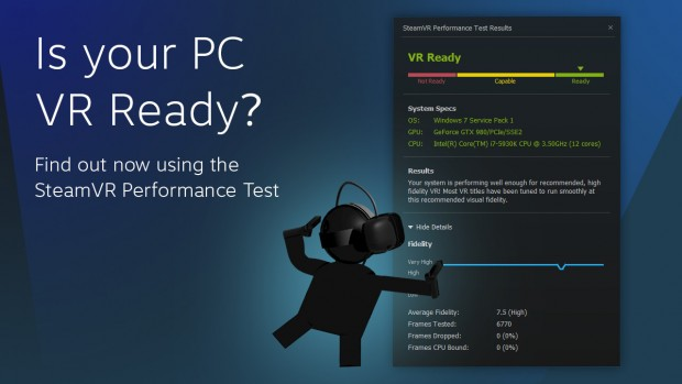 SteamVR Performance Test (Bild: Valve)