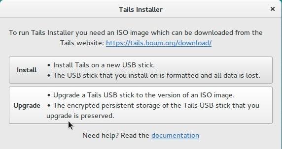 Nach der Installation ist der Tails Installer bei den Anwendungen zu finden. (Screenshot: Jürgen Donauer)