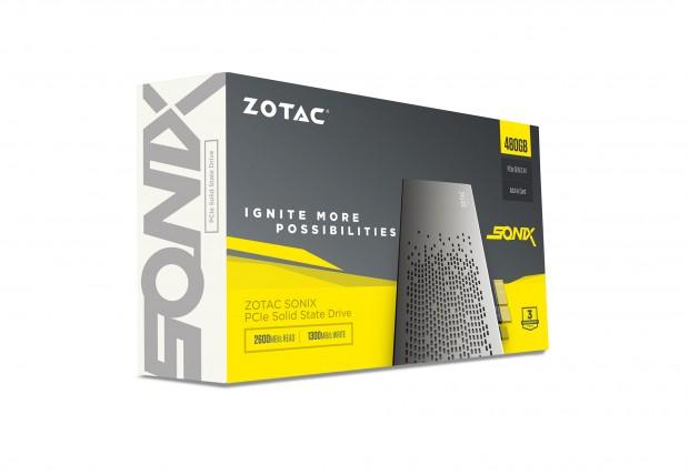 Sonix PCIe-SSD (Bild: Zotac)