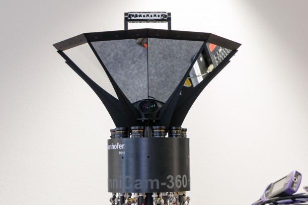 Die Bilder für das Kino werden mit der Omnicam 360 gefilmt. (Foto: Werner Pluta/Golem.de)