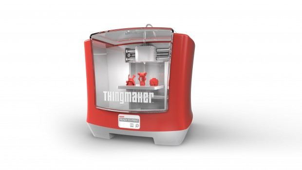 Rendering des ThingMaker (Bild: Mattel)
