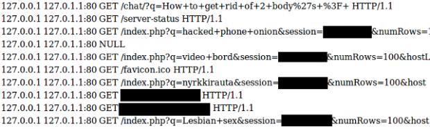 Ein Konfigurationsfehler bei Apache-Servern kann vertrauliche Daten preisgeben, wenn diese im Tor-Netzwerk laufen. (Bild: Alec Muffet)
