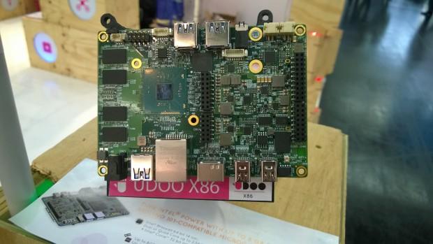 Prototyp des Udoo x86 (Foto: Alexander Merz/Golem.de)