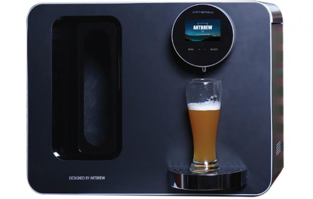 Der Artbrew-Automat (Bild: Comingsoon Tech)