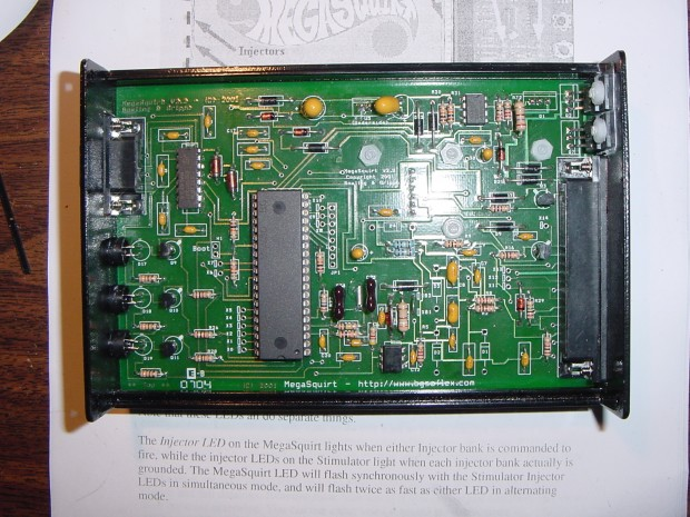 Modular konfigurierbares Megasquirt ECU 2.2 mit 16-Bit-Microcontroller (Bild: Jeff Keyzer/Flickr/CC-by-SA)