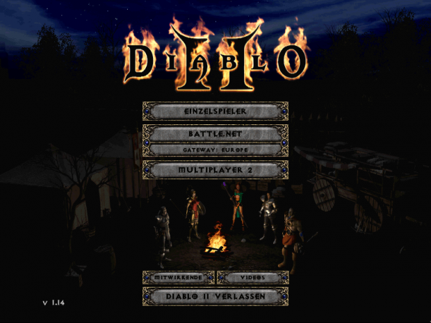 Diablo 2 mit Patch 1.14a (Screenshot: Marc Sauter/Golem.de)