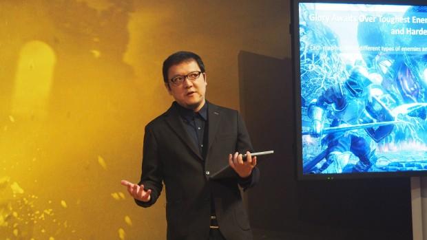 Hidetaka Miyazaki leitet die Entwicklung von Dark Souls 3. Beim Vorgänger war er als Berater tätig. (Bild: Medienagentur plassma / Olaf Bleich)