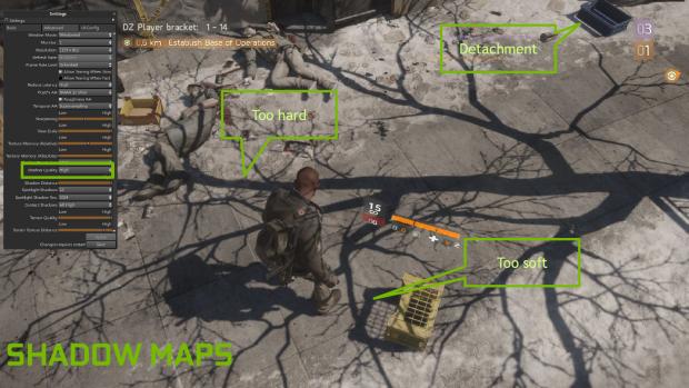 The Division mit regulären Schatten (Bild: Nvidia)