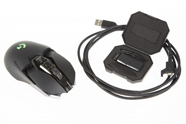 Logitech G900 im Test: Die erste Maus mit Wireless-Kabel - Golem.de