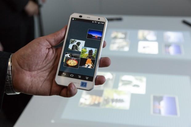 Das Smartphone ist wichtiger Teil des Creative Space. (Foto: Martin Wolf/Golem.de)