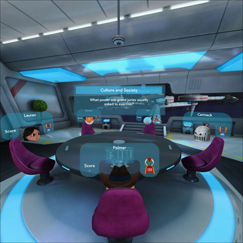 Social Trivia (Bild: Oculus VR)