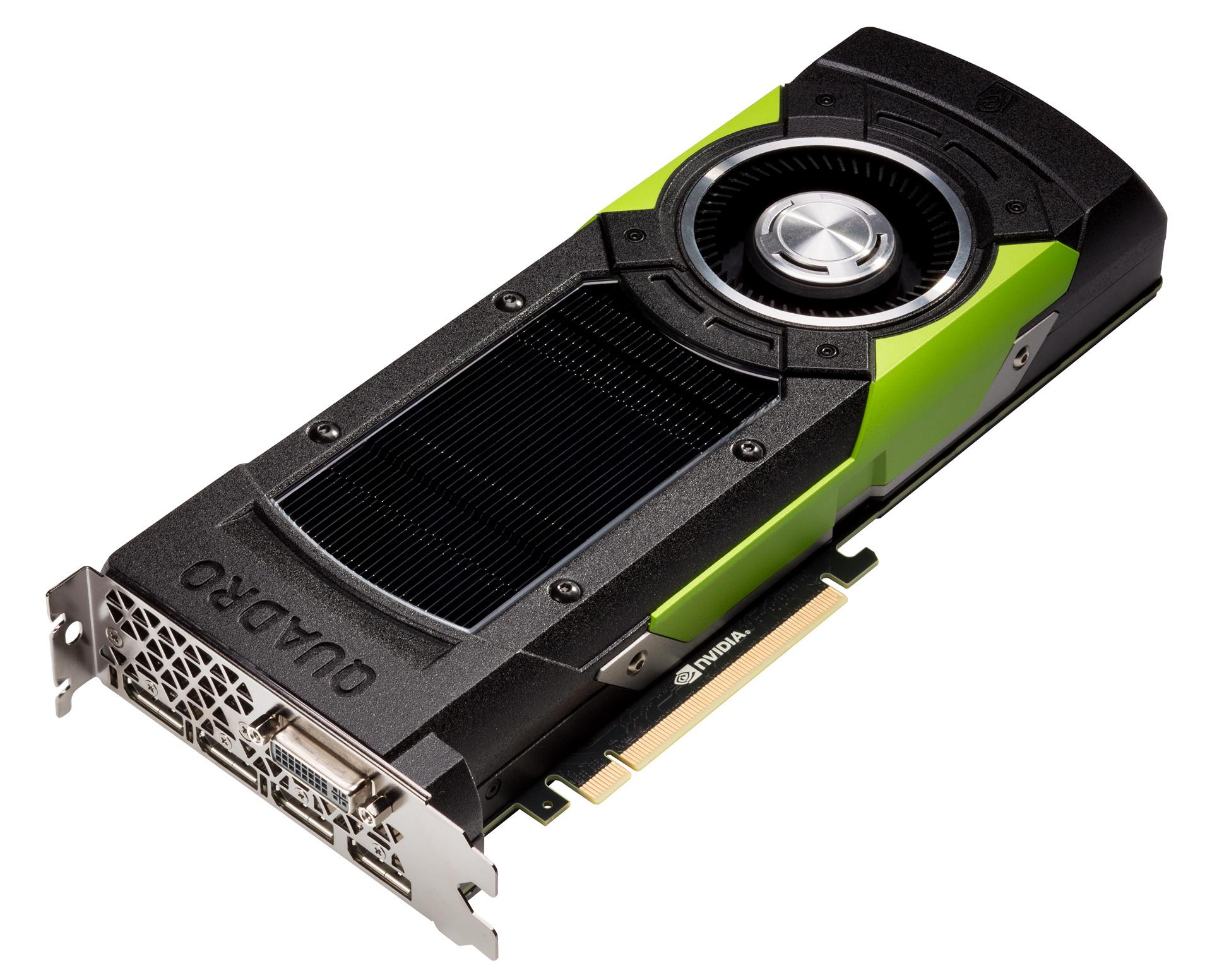 Quadro M6000: Nvidia verdoppelt Videospeicher der Profi-Karte auf 24 GByte - Quadro M6000 (Bild: Nvidia)