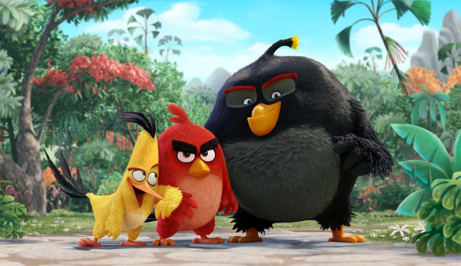 Quadro M6000: Nvidia verdoppelt Videospeicher der Profi-Karte auf 24 GByte - The Angry Birds Movie (Bild: Sony Pictures Imageworks)