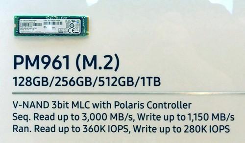 Samsung PM961 (Bild: IT Media)