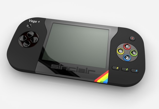 Der Sinclair ZX Spectrum Vega+ (Bild: Retro Computers)