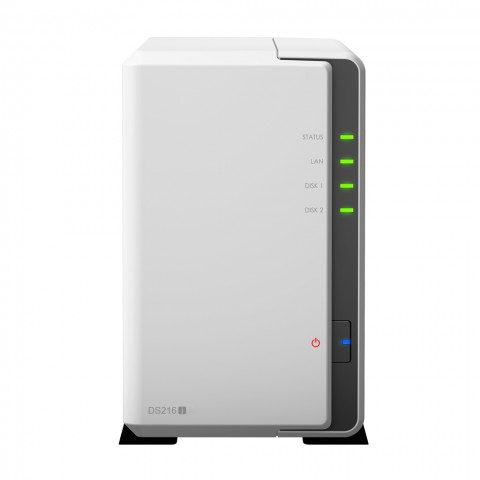 Diskstation DS216j (Bild: Synology)
