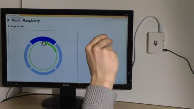 Demo-Anwendungen für die Gestenerkennung (Bild: Myestro Interactiv GmbH)