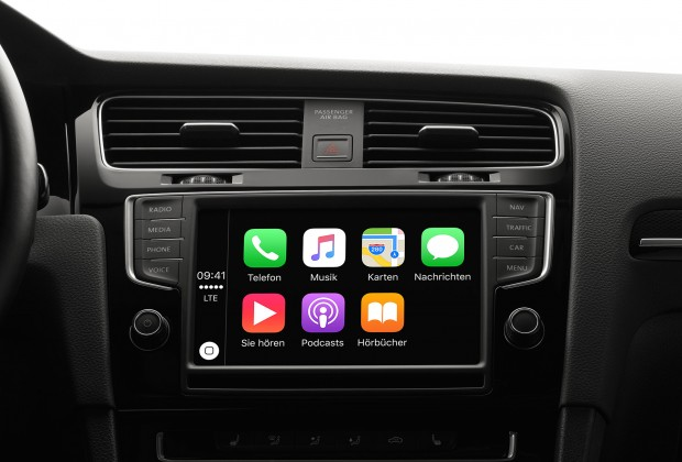 Apple Carplay (Bild: Apple/Screenshot: Golem.de)