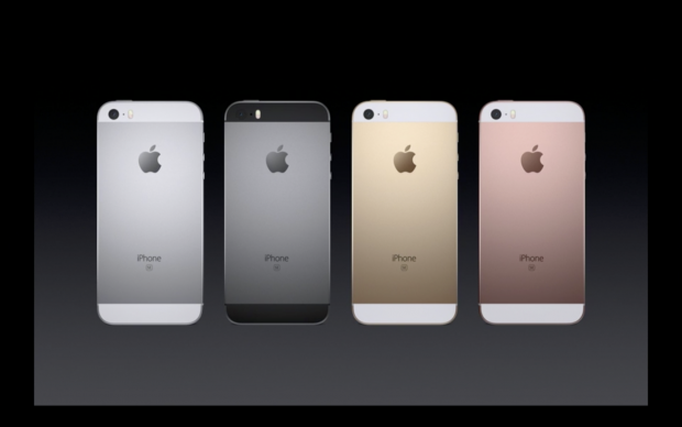 iPhone SE (Bild:Apple/Screenshot: Golem.de)