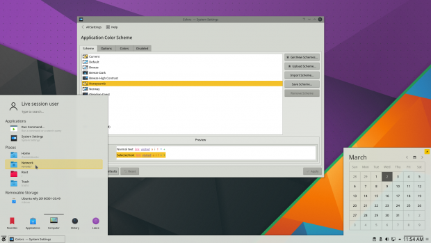 Breeze folgt nun den Farbschemen für Anwendungen. (Bild: KDE - CC-BY 3.0)