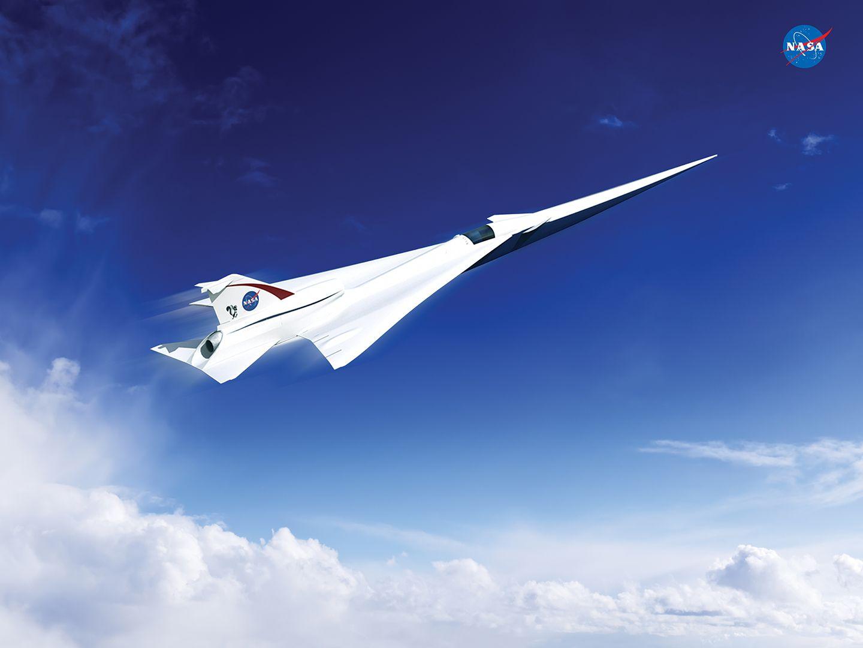 Luftfahrt: Nasa lässt Überschallflugzeug ohne Knall bauen -