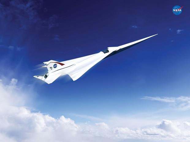 Konzept eines leisen Passagier-Überschallflugzeugs (Bild: Lockheed Martin)