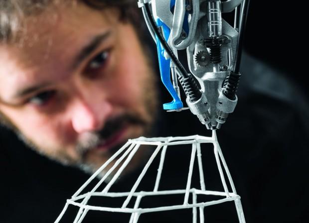 Der 3D-Drucker 3C Cocooner von Festo (Foto: Festo)