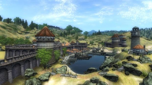Anvil in TES Oblivion (Screenshot: Marc Sauter/Golem.de)