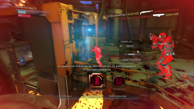 Doom Closed Beta (Screenshot: Golem.de)