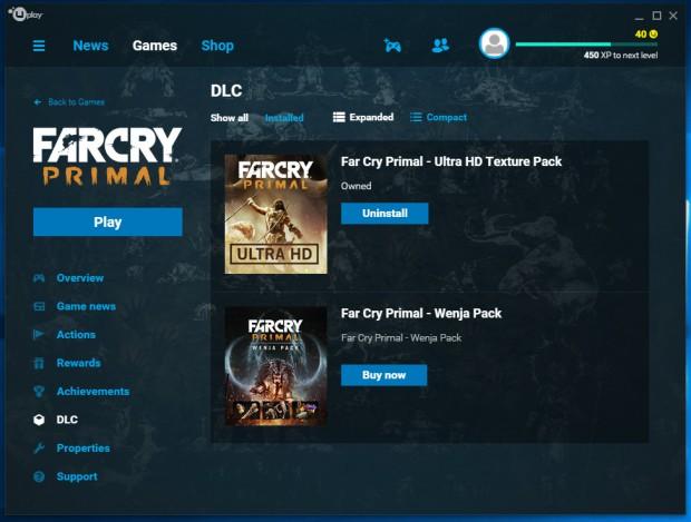 Das UHD-Texture-Pack ist ein kostenloser DLC. (Screenshot: Marc Sauter/Golem.de)