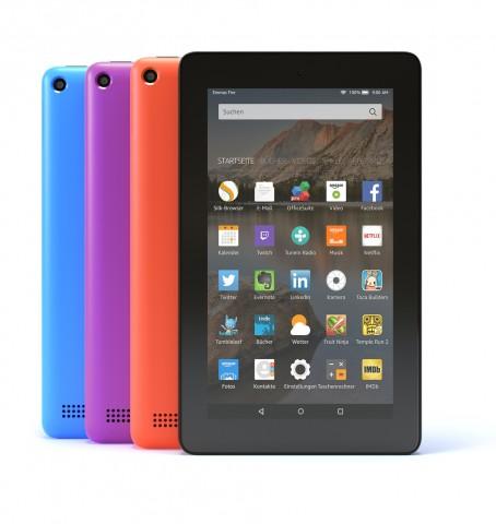Fire Tablet jetzt auch mit 16 GByte Flash-Speicher (Bild: Amazon)