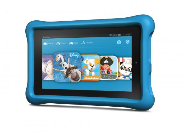 Fire Kids Edition hat jetzt standardmäßig 16 GByte Flash-Speicher (Bild: Amazon)