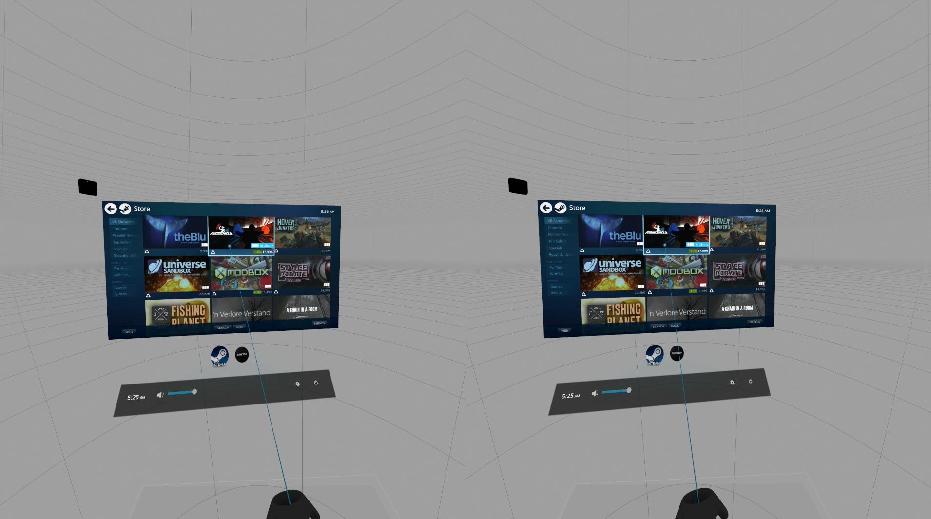HTC Vive im Test: Zwei mal zwei Meter sind mehr, als man denkt -