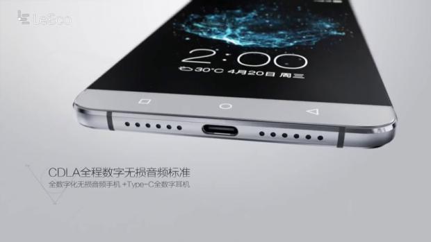 Die LeEco-Smartphones haben einen USB-Type-C-Anschluss. (Screenshot: Golem.de)