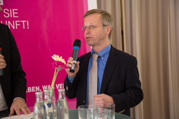 Der Bürgermeister von Bad Honnef, Otto Neuhoff. (Bild: Martin Wolf/Golem.de)