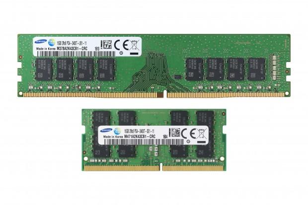 8-GBit-DDR4 im 10-nm-Class-Verfahren (Bild: Samsung)