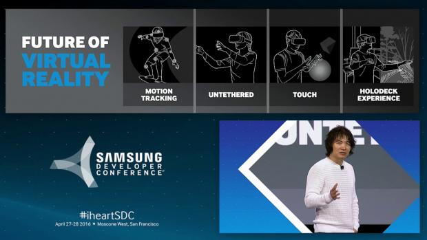 Samsung arbeite an drahtlosen VR-Headsets. (Bild: Samsung)