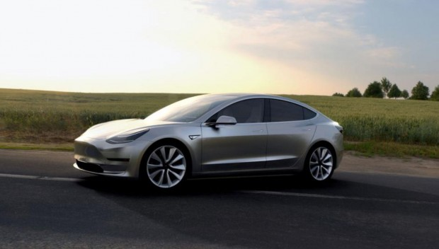 Tesla Model 3 (Bild: Tesla Motors)