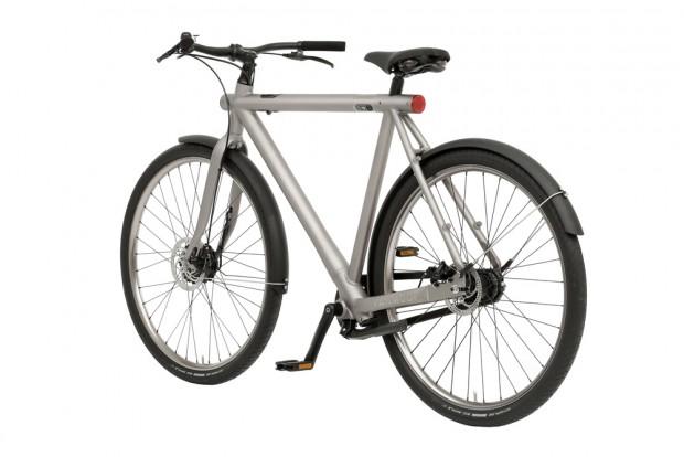 vanmoof e bike mit elektronischem fahrradschloss und. Black Bedroom Furniture Sets. Home Design Ideas